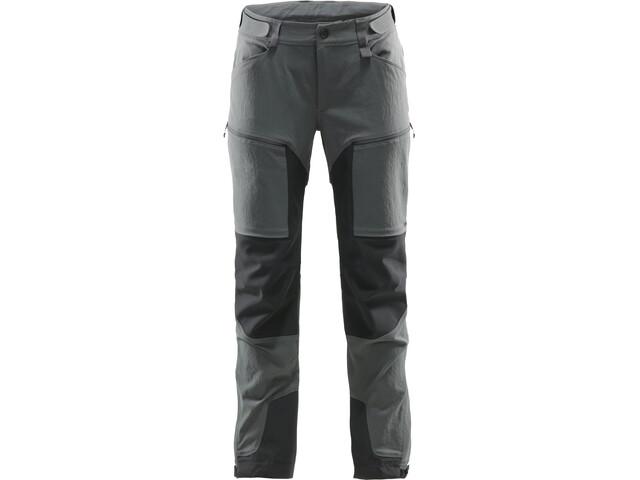 Haglöfs Rugged Mountain Spodnie Kobiety, magnetite/true black